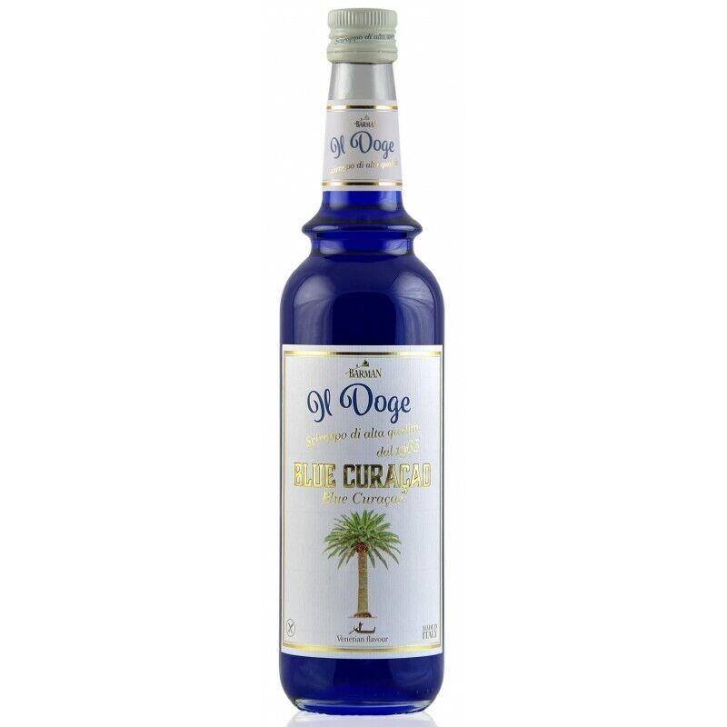 17,13€/ Il Doge Sirup Blue Curacao 0,7 Liter für Cocktail oder Kaffee