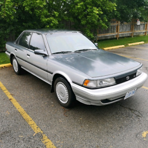 Time Capsule! '91 Toyota Camry LE V6- loaded-super low km - rare