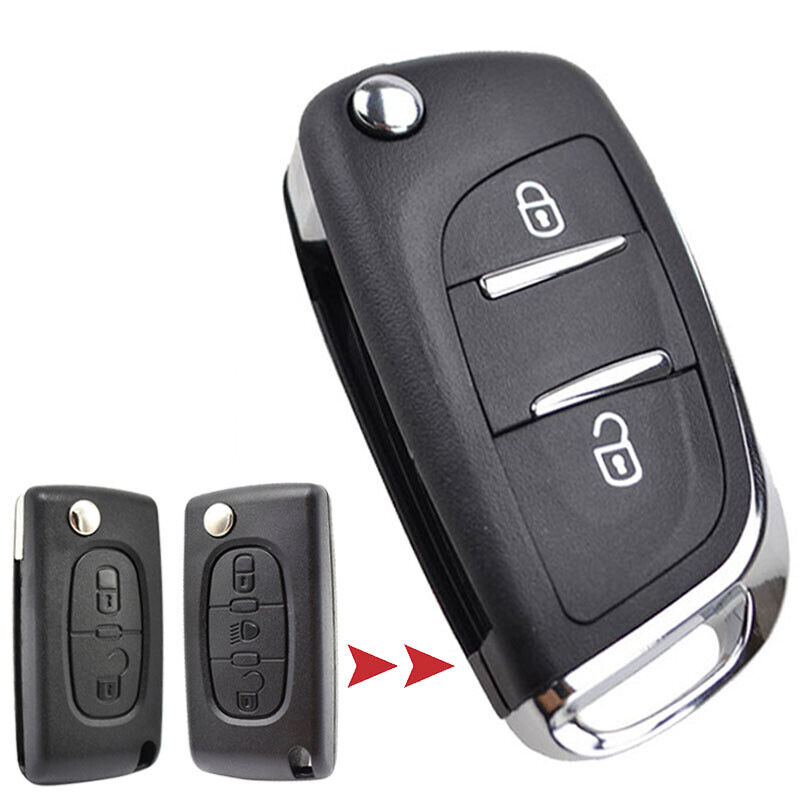 Xukey Remote Key Shell Case For Peugeot 308 207 307 3008 807 For Citroen C3 C4 Ebay