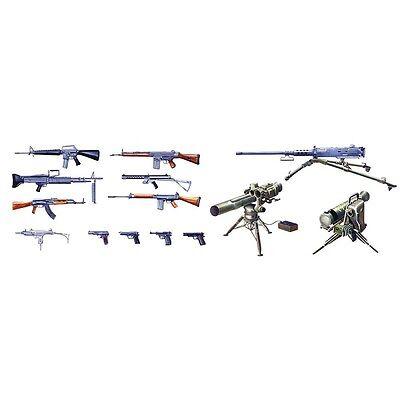 Italeri 1/35 Modern Light Weapon Set Plastic Model Kit 6421 ITA6421