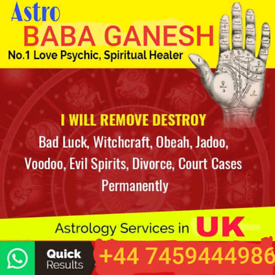 Psychic,spiritual healer,clairvoyant,medium,blackmagic removal in uk