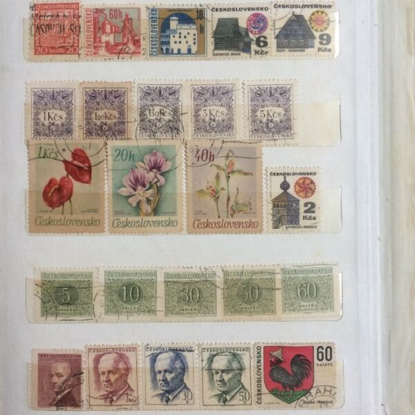 Collectible Czechoslovakia Stamps
