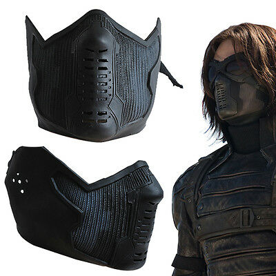 Captain America 2 The Winter Soldier Bucky Barnes Cosplay Maske Replik