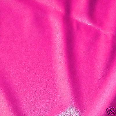 PU FLUORESCENT VINYL 2-WAY STRETCH PLEATHER GOTH DRESS CATSUIT NEON FUCHSIA - Pleather Cat Suit