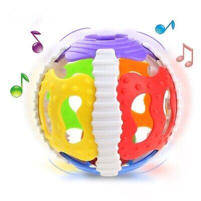 Baby Kinder Rassel Ball babyspielzeug Mit Rasselball Musik Spielzeug Geschenk DE