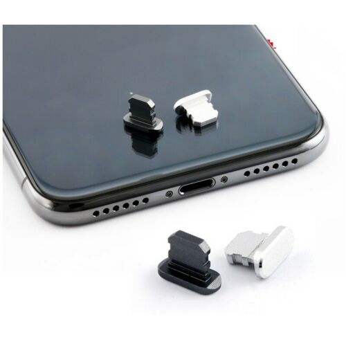 Aluminium Alloy Dust Plug Mobile Phone Charge Port Stopple for Apple IPhone 4 5