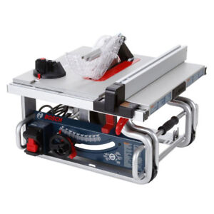 "Bosch 10"" portable table saw"