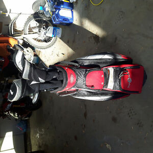 Ram men's rh golf clubs w/ topflite stand bag