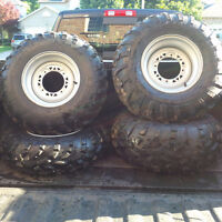 POLARIS ATV TIRES AND RIMS