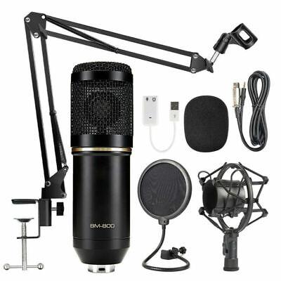 BM800/NW700 Condenser Microphone Kit Pro Audio Studio Recording & Brocasting Set