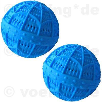 Natürliche Waschmittel (2x Keramik-Wäscheball Öko Wäsche-Ball Waschball mit natürlichen Mineralstoffen)