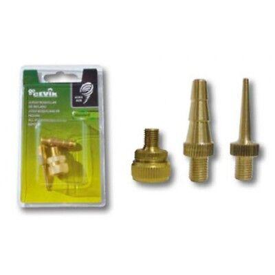 Boquillas inflado Kit 3 piezas Cevik CA-1110/5