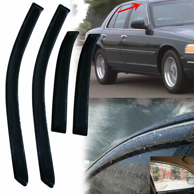 RainProtect Window Visor Vent for 05-10 Chrysler 300 Dodge Magnum Vehicles KLD08