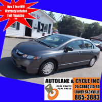 2010 Honda Civic Automatic Alloys New tires Only ➳ $7295 Bedford Halifax Preview