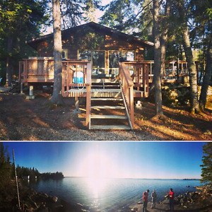 Available this weekend!! Lakefront Cabin for rent Rocky Lake