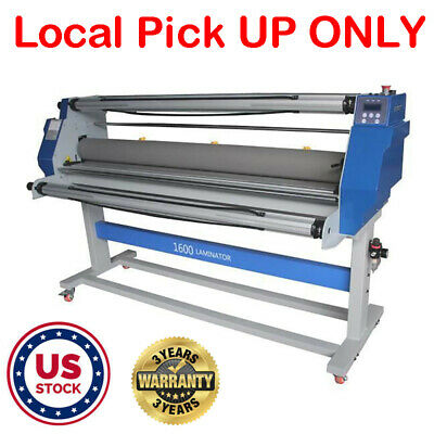 63 1600mm Full Auto Hot Cold Roll Laminator Machine Wide Format Laminating - Us