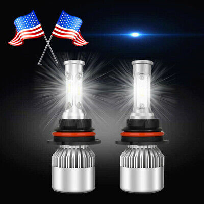 FOR 99-04 Ford Mustang PAIR led HEADLIGHT BULBS US COMBO Ford Mustang Dual Led