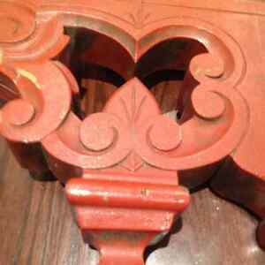 Antique Wood Carved Ceiling Decor Display Shabby Chic Project Lg Oakville / Halton Region Toronto (GTA) image 4