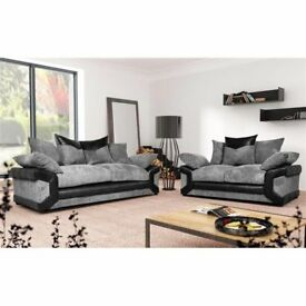 NEW SOFAS FREE FOOTSTOOL FAST DELIVERY