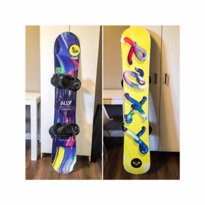 Roxy Snowboard and Burton Gear
