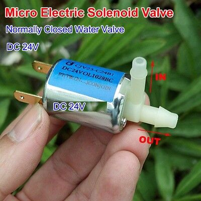 Dc24v Mini Electric Exhaust Solenoid Valve Normally Closed Nc For Gas Water Air