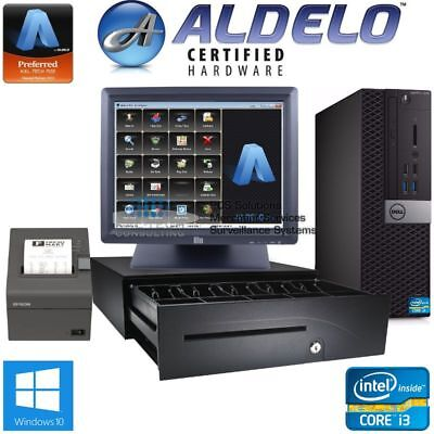 Aldelo Pro Pos System I3 4gb Restaurant Bakery Bar With Aldelo Pro Software New