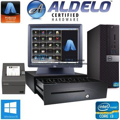 Aldelo Pro Pos System I34gb Restaurant Bakery Bar Software New W5yr Warranty