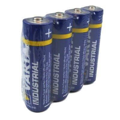 10x4= 40 Batterien Mignon AA LR6 MN1500 VARTA 4006 Industrial Batterie 4er-Folie
