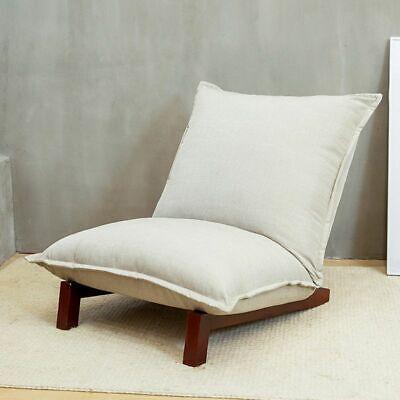 Floor Sofa Recliner Chair Fabric Wood Modern Living Room Relaxing Decoration (Decorative Living Reclining Sofa)