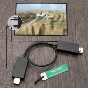 Wireless Display Adapter V2 Receiver HDMI and USB Port HD 1080P for Microsoft