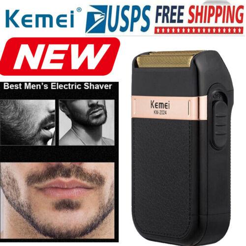 Kemei Men's Electric Shaver Trimmer Razor Reciprocating 2-he