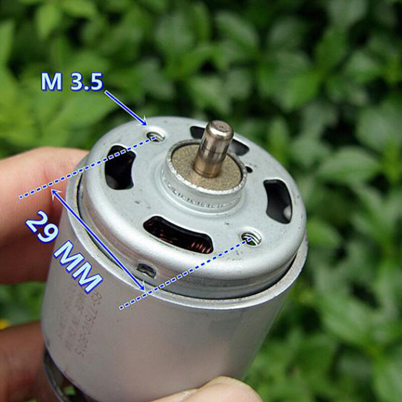 for Mabuchi RS-775VC-8015 DC18V 18200RPM 208W High Speed Motor for Drill Toy Car