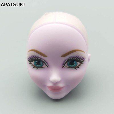 1:6 Soft Makeup Bald Doll Head For Monster High Doll Head Monster Head 1/6 DIY - Monster High Diy