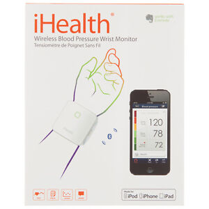 iHealth Bluetooth Wrist Blood Pressure Monitor Edmonton Edmonton Area image 1