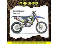 Sherco SEF 250 Factory 2022 Model - Nil Deposit Finance Available