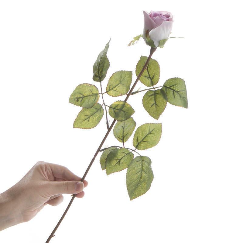 Artificial Long Stem Lavender Roses