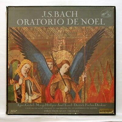 Asdf 181 4 Kurt Thomas   Bach Christmas Oratorio Orig Emi Stereo 4Xlps Box Ex