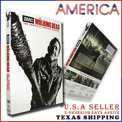 The Walking Dead season 7 (DVD, 2017,5-Disc Set) US Seller Free Shipping