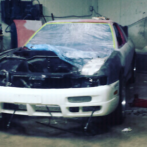 1991 nissan 240sx s13 rolling shell