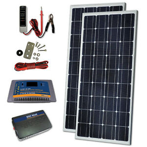 ---NEW--- Sunforce 260-Watt Crystalline Solar Kit