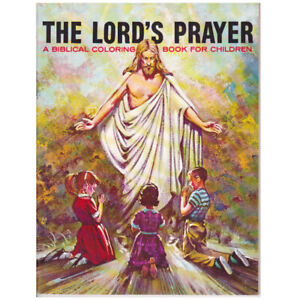 """""""The Lord's Prayer"""" Coloring Story Book"""
