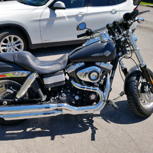 2009 Harley-Davidson V-Twin Dyna Fat Bob FXDF Cruiser - Low Kms!