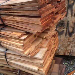 cedar sidewall shingles $75.00 a bundle , covers 30 sq foot, pri