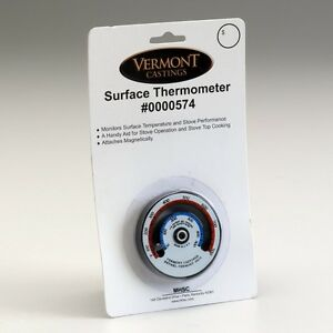 VERMONT CASTINGS WOOD STOVE SURFACE THERMOMETER