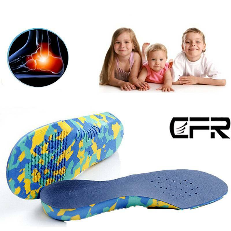 Unisex Flat Feet Arch Support Insoles Orthopedic Pad EVA Pain Relief Foot Insole