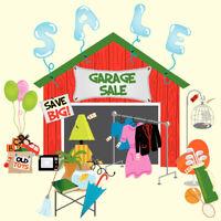 Garage Sale - large garage sale in West Vancouver - Saturday