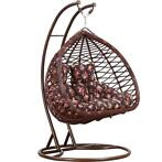 Hangstoel Double Eggy Waves Schommelstoel - Rattan- 2persoon