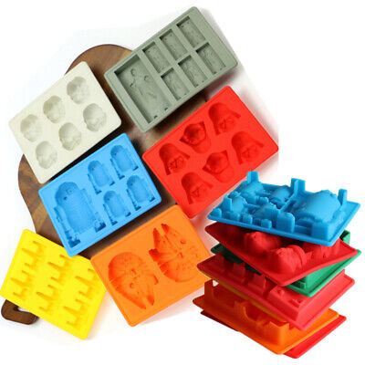 Star Wars Ice Mould Set Silicone DIY Cube Party DIY Cocktail Whiskey Maker