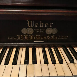 FREE Beautiful Solid WEBER Piano