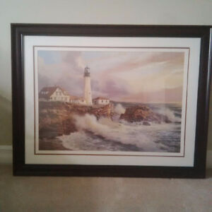 Large Lighthouse Wall Picture